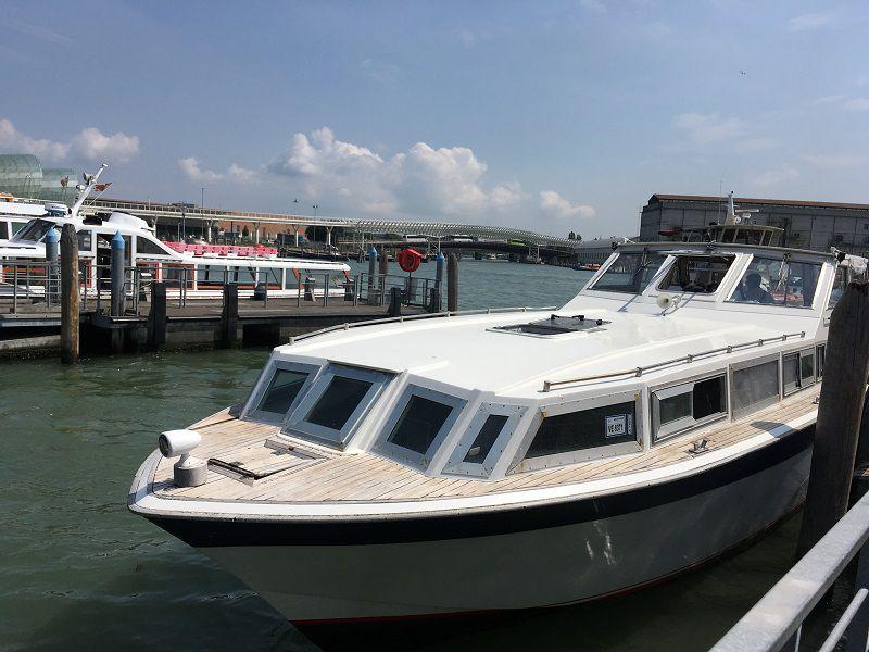 イタリア ヴェネツィア 船