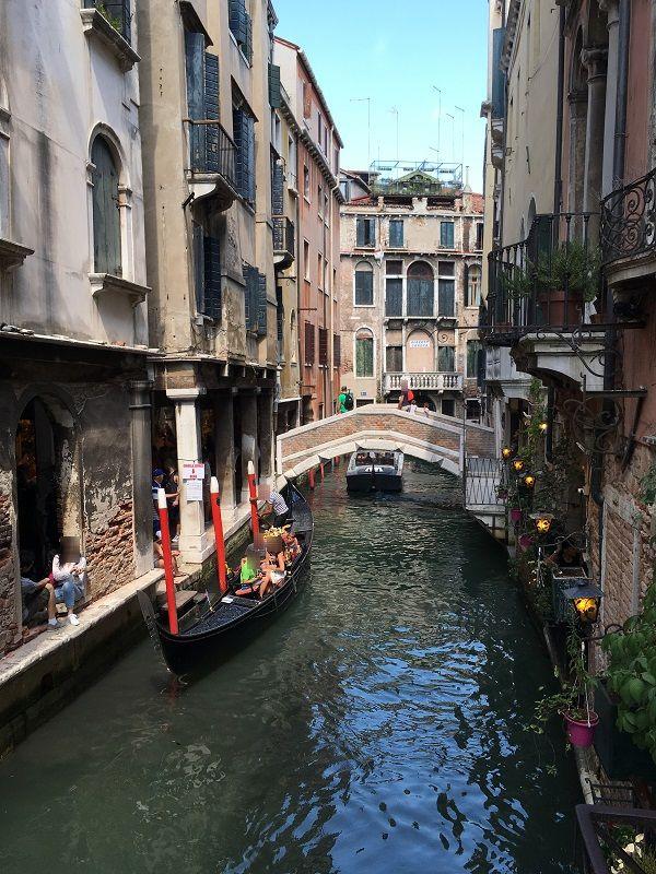 イタリア ヴェネツィア 水路