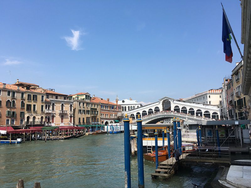イタリア ヴェネツィア リアルト橋1