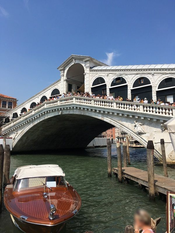 イタリア ヴェネツィア リアルト橋2