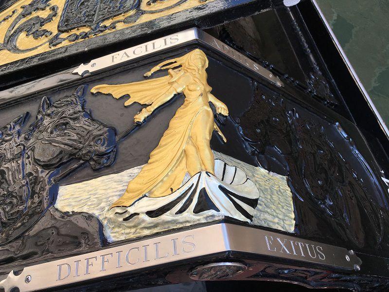 イタリア ヴェネツィア ゴンドラの絵柄
