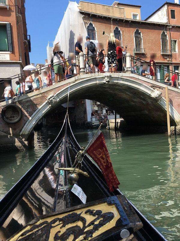 イタリア ヴェネツィア ゴンドラからの眺め1