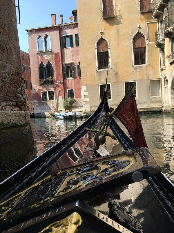 イタリア ヴェネツィア ゴンドラからの眺め4