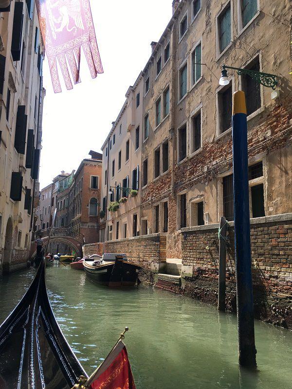 イタリア ヴェネツィア ゴンドラからの眺め5