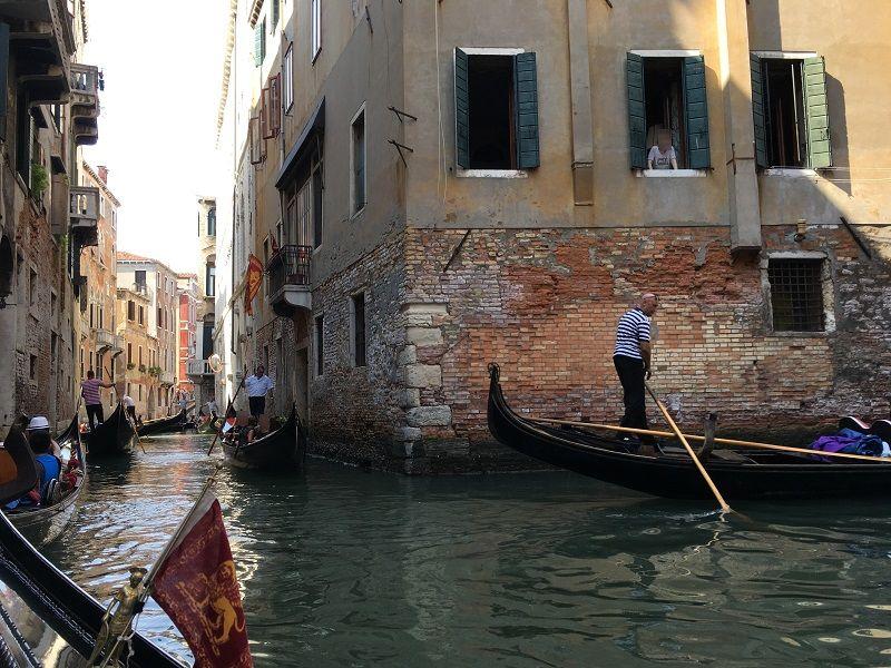イタリア ヴェネツィア ゴンドラからの眺め7
