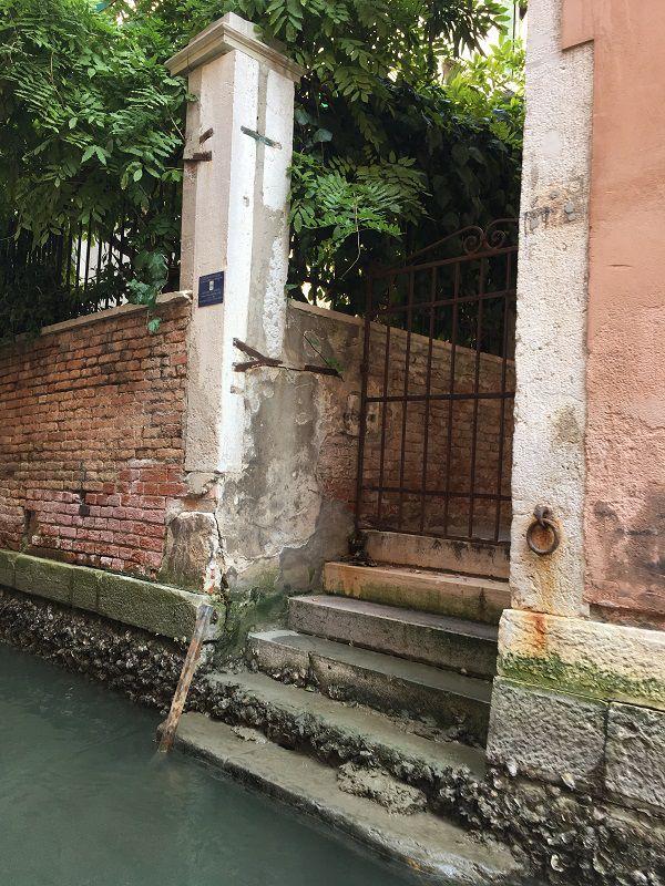 イタリア ヴェネツィア ゴンドラからの眺め9