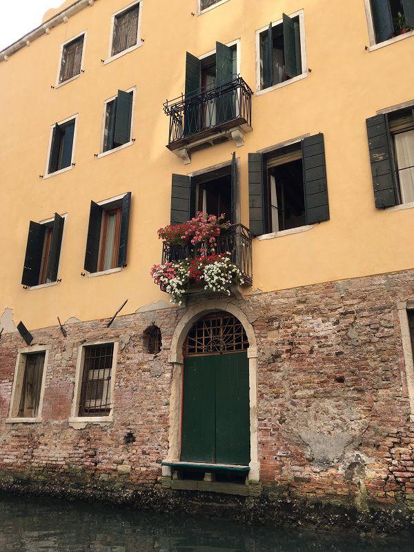 イタリア ヴェネツィア ゴンドラからの眺め10