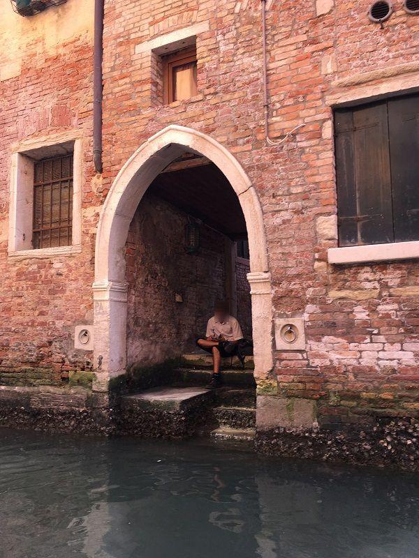 イタリア ヴェネツィア ゴンドラからの眺め11