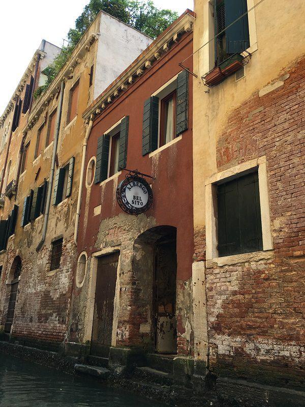 イタリア ヴェネツィア ゴンドラからの眺め12
