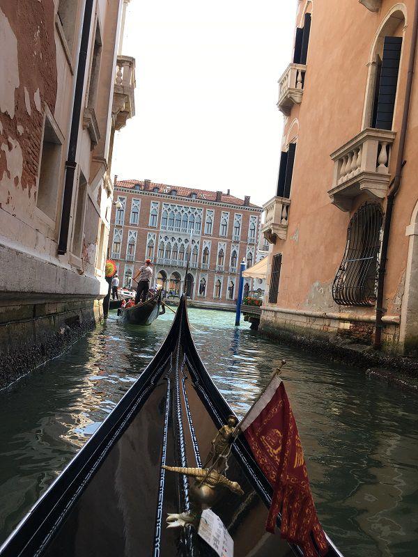 イタリア ヴェネツィア ゴンドラからの眺め13