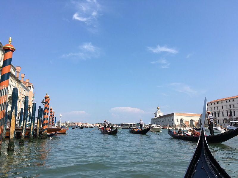 イタリア ヴェネツィア ゴンドラからの眺め14