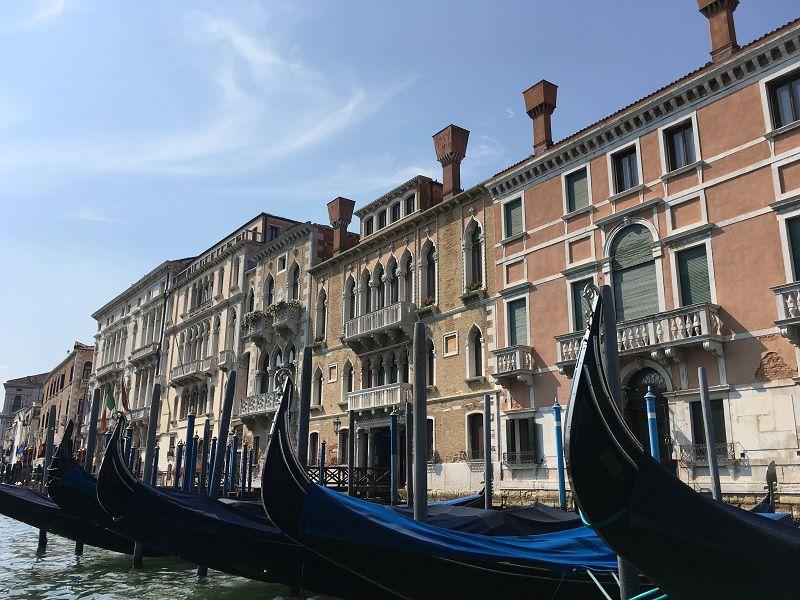 イタリア ヴェネツィア ゴンドラからの眺め16
