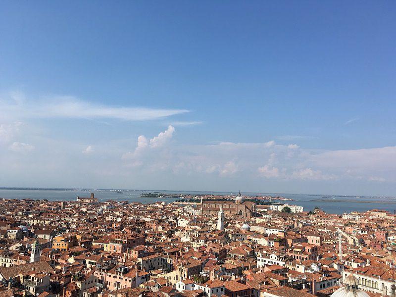 イタリア ヴェネツィア 大鐘楼からの眺め1