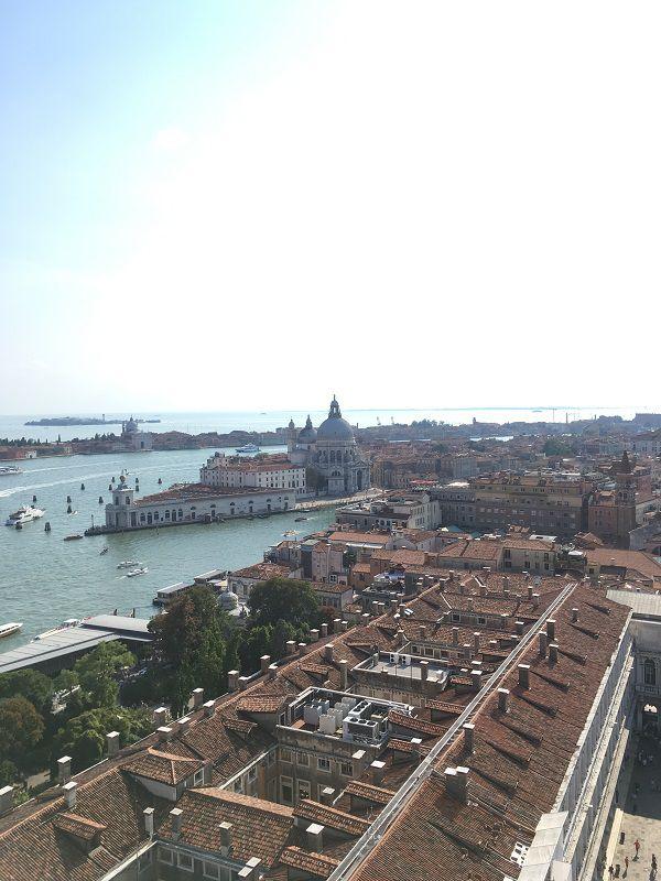 イタリア ヴェネツィア 大鐘楼からの眺め2