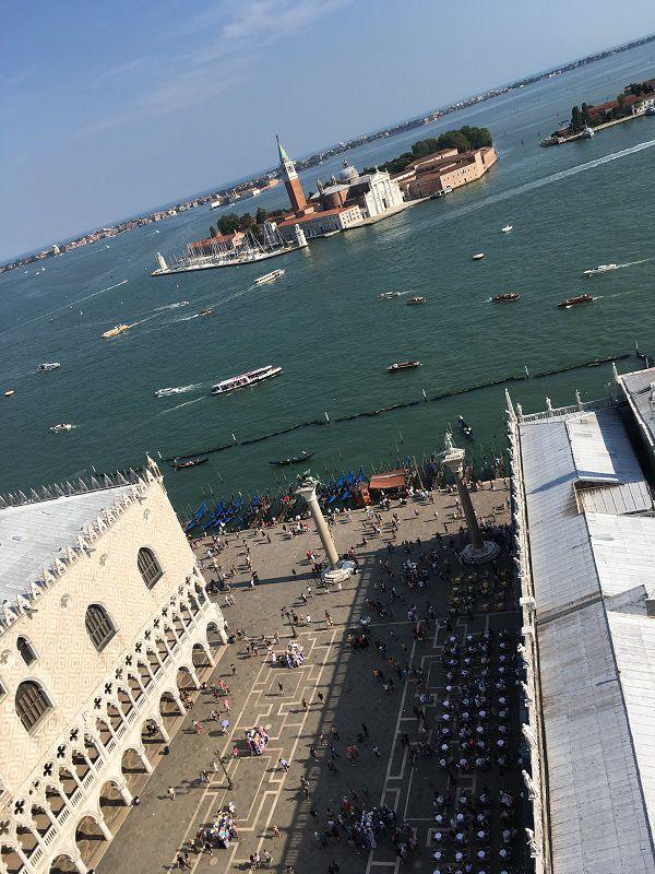 イタリア ヴェネツィア 大鐘楼からの眺め3