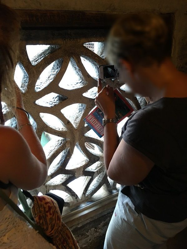 イタリア ヴェネツィア ドゥカーレ宮殿 ため息橋からの撮影