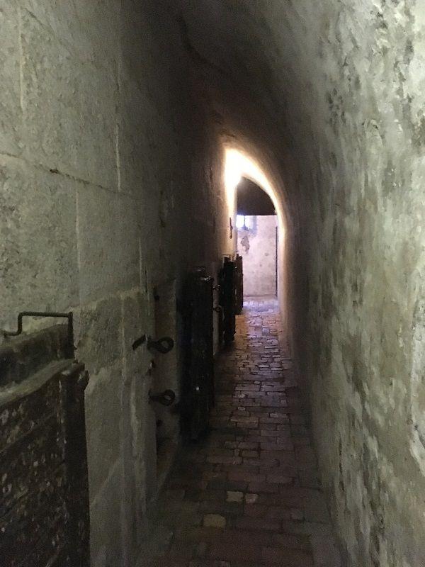 イタリア ヴェネツィア ドゥカーレ宮殿 牢獄 通路