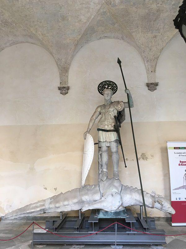 イタリア ヴェネツィア ドゥカーレ宮殿 戦士