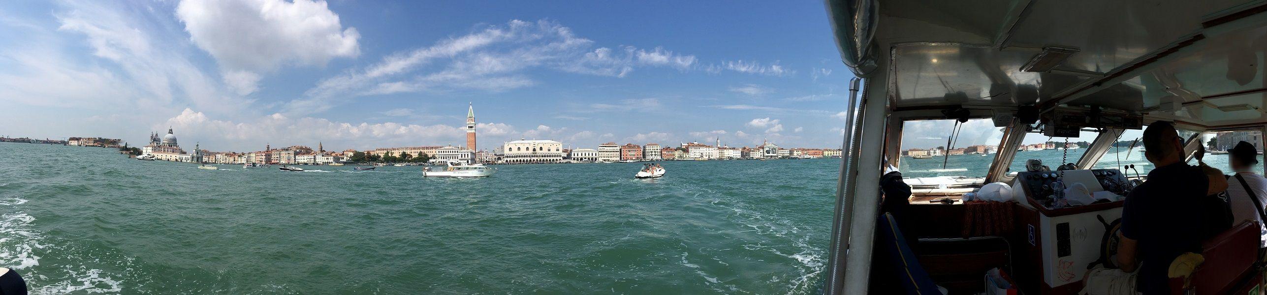 イタリア ヴェネツィア 船からの眺め4