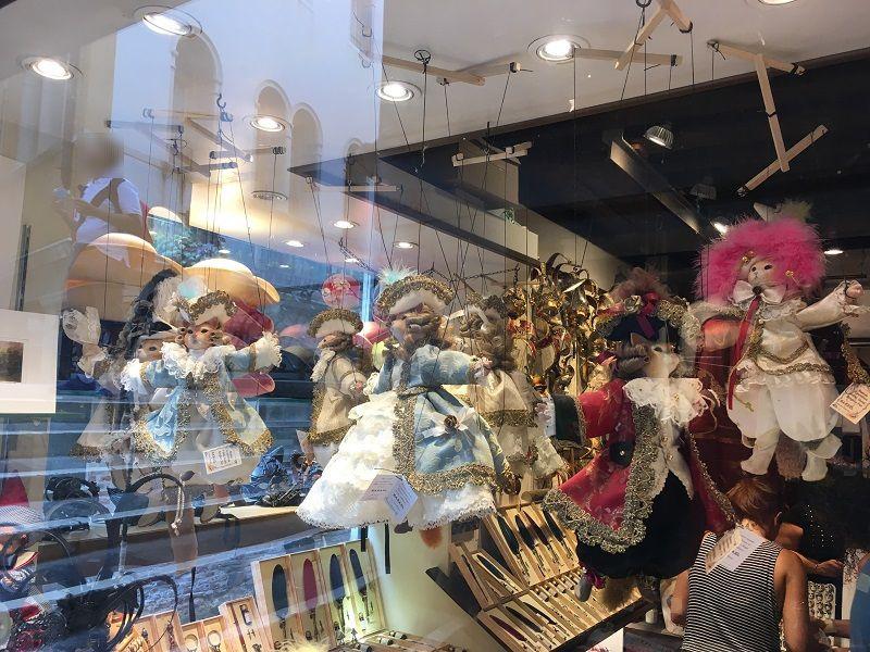 イタリア ヴェネツィア 猫の操り人形