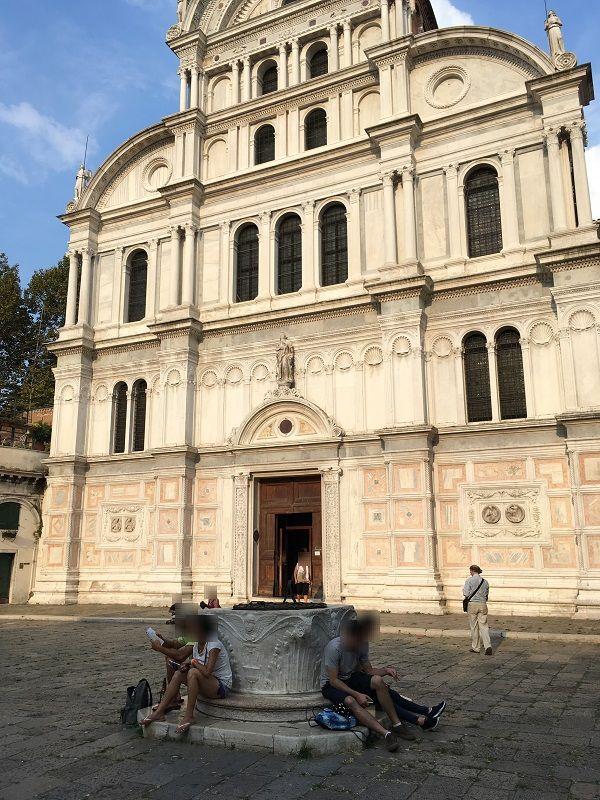 イタリア ヴェネツィア 井戸