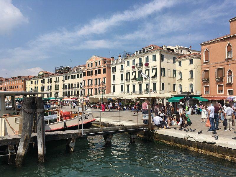 イタリア ヴェネツィア 船乗り場