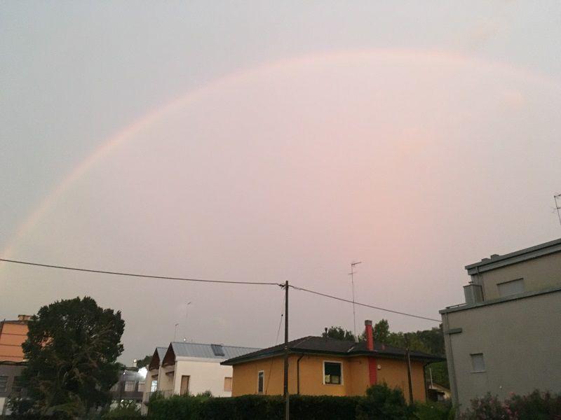 イタリア ヴェネツィア 虹(Rainbow)