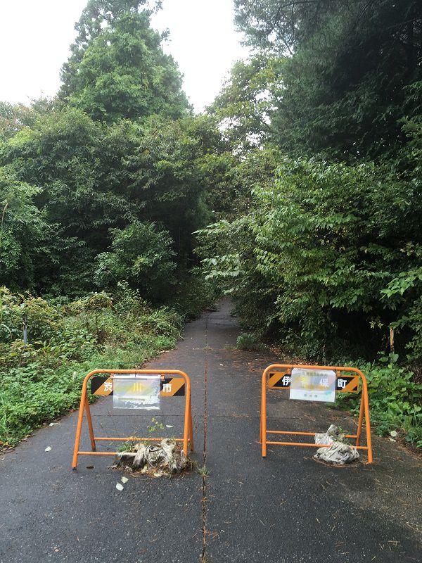 伊香保温泉 上ノ山公園 伊香保神社への遊歩道1