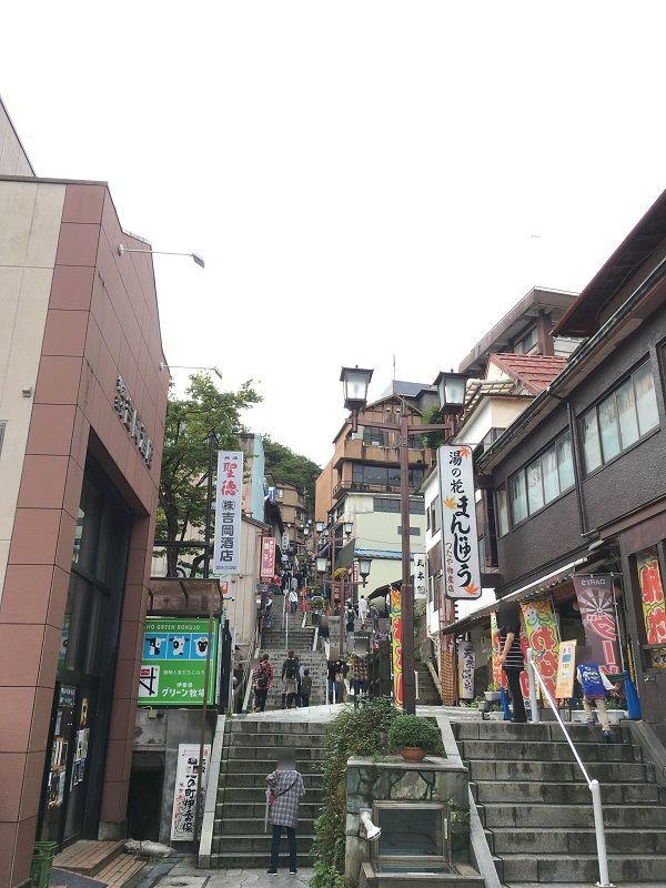伊香保温泉 石段街1