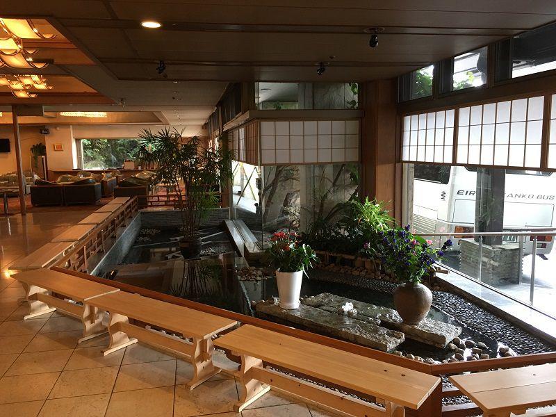 伊香保温泉 ホテル松本楼 ロビー