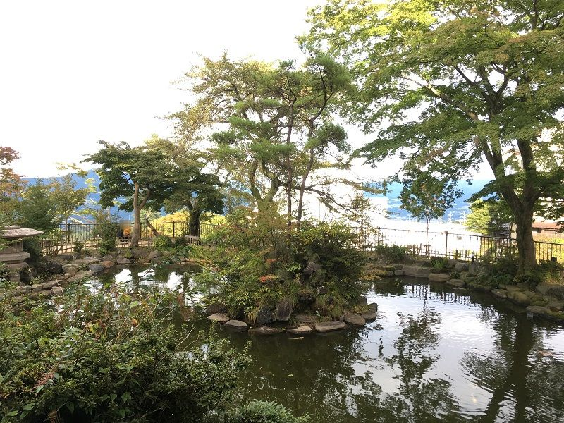 伊香保温泉 ハワイ王国公使別邸 庭園