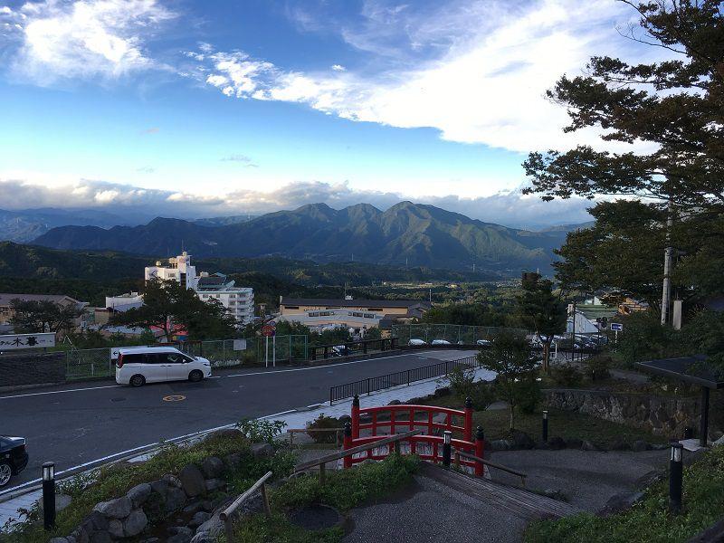 伊香保温泉 山