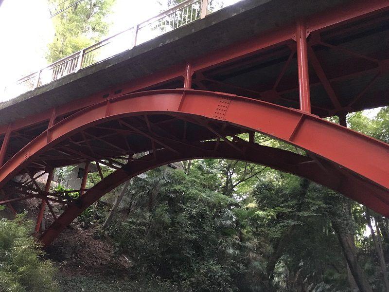 等々力渓谷 ゴルフ橋2
