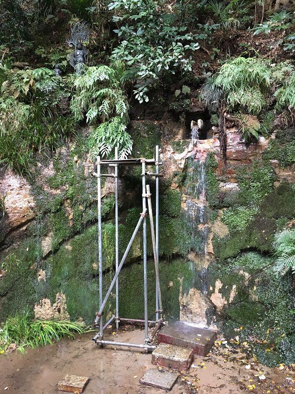 等々力渓谷 不動の滝