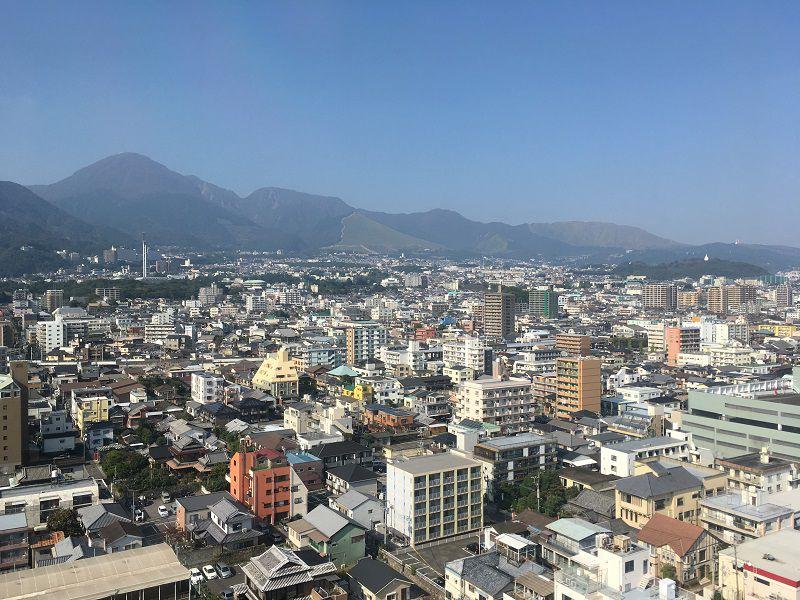 別府温泉 別府タワーからの眺め1