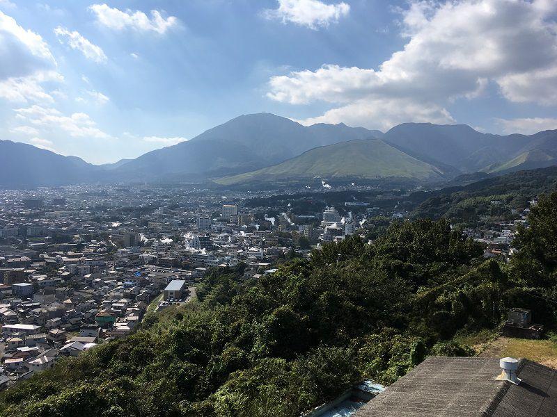 別府温泉 貴船城からの眺め1