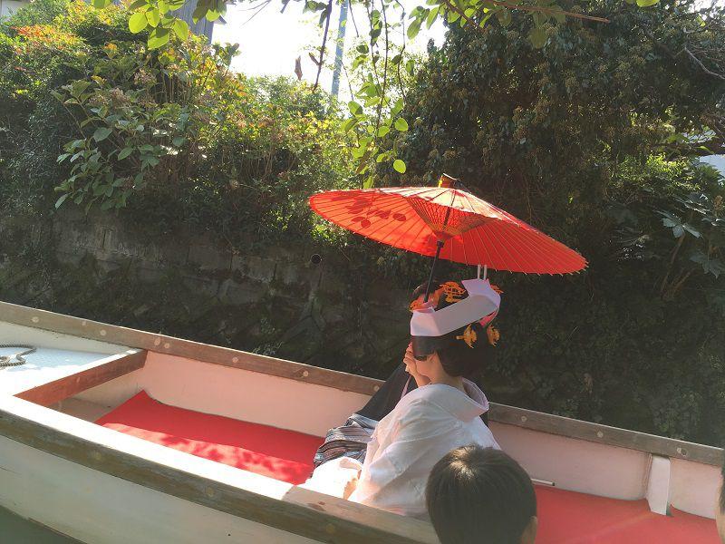 柳川 川下り 結婚式 花嫁舟2