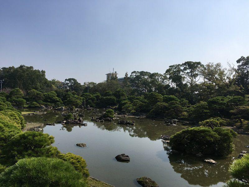 柳川 立花氏庭園 松濤園