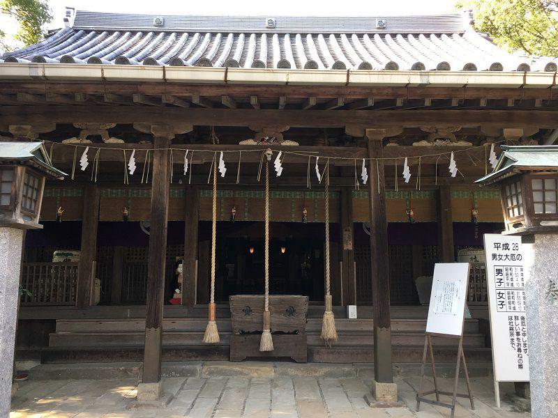 柳川 日吉神社