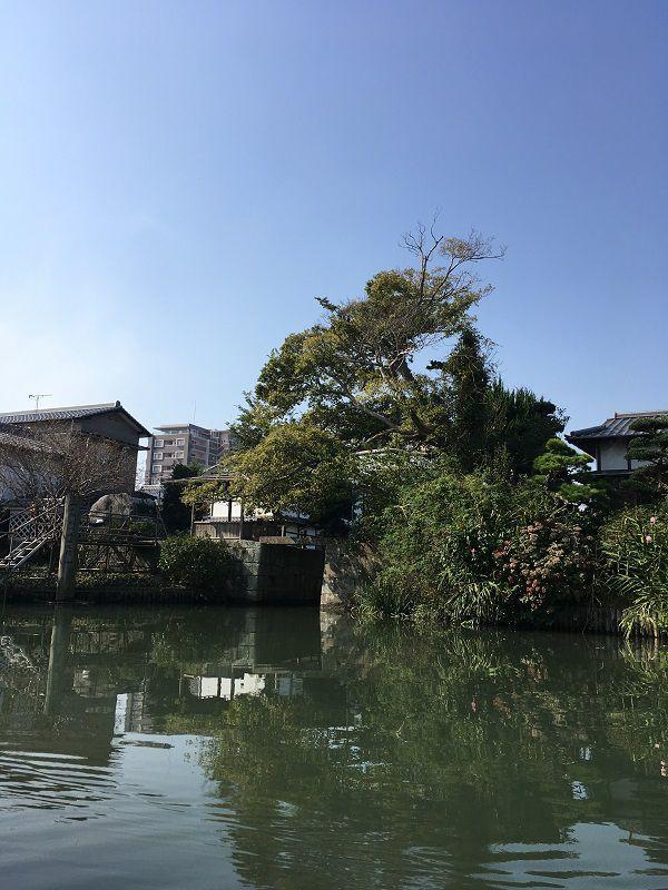 柳川 川下り 柳川城堀水門