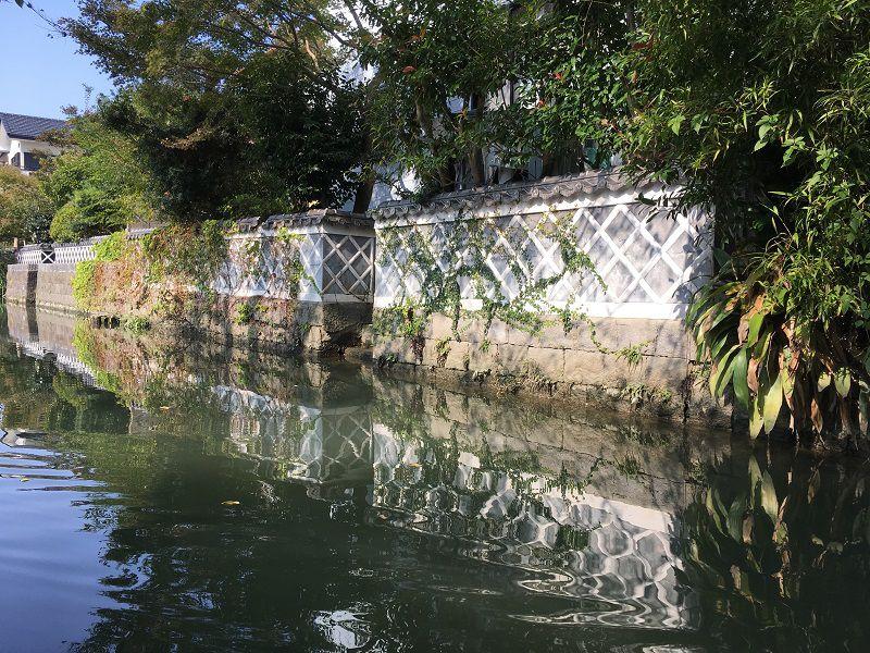 柳川 川下り なまこ壁