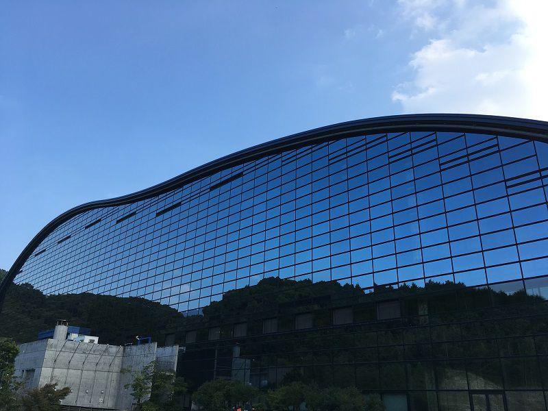 大宰府 九州国立博物館 建物外観