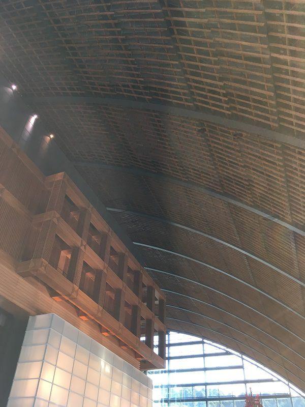 大宰府 九州国立博物館 天井
