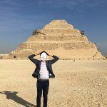 男一人でサッカラとダハシュールでピラミッドを観てきた in エジプト