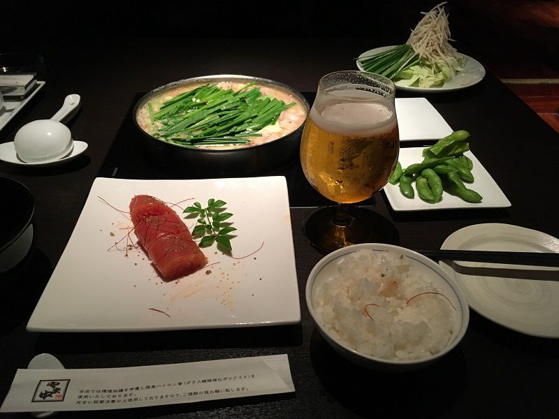 博多 もつ鍋 やま中 赤坂店2