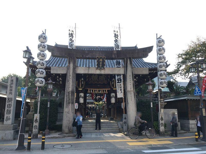 博多 櫛田神社1