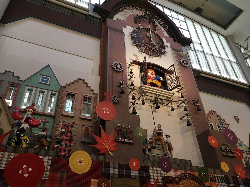 博多 天神 新天町商店街 からくり時計 メルヘンチャイム