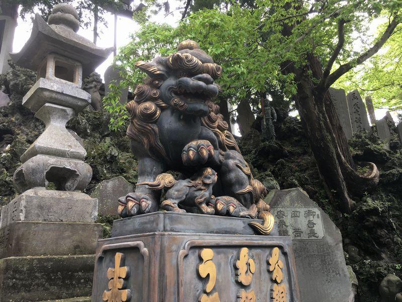 成田山新勝寺 狛犬