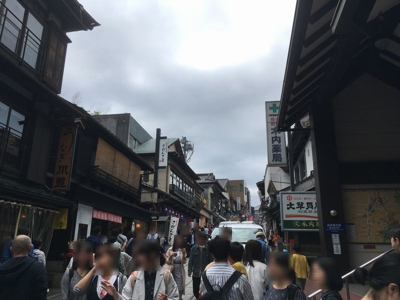 成田山新勝寺 表参道