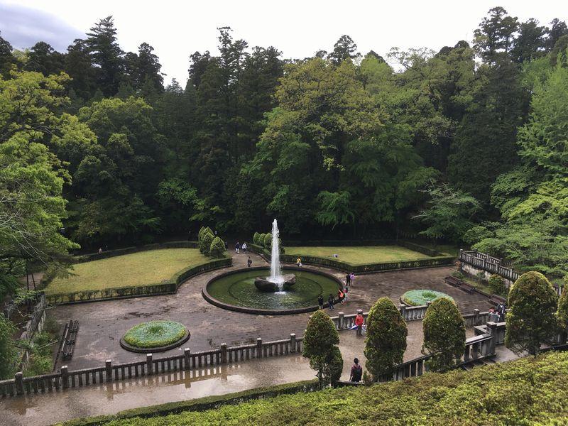 成田山新勝寺 成田山公園 噴水